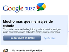 Buzz la nueva red social de Google