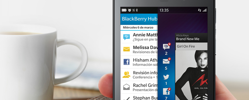 New Blackberry 10 OS version 10.1.0.273