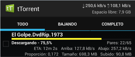 Descargar torrents con Blackberry 10